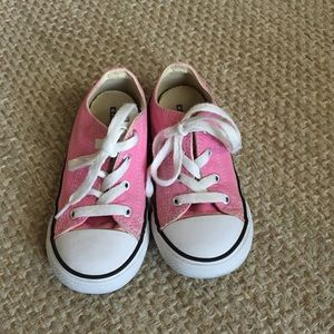 CONVERSE Pink Toddler Sneakers